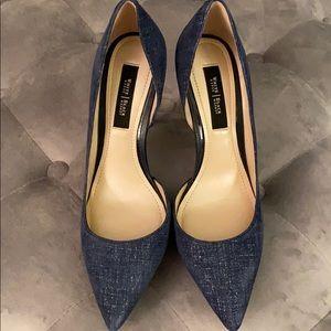 White House Black Market Portia Heels 7.5.